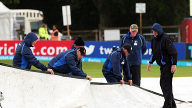 Despite the hard work of the ground staff there was no play in Dublin on Sunday