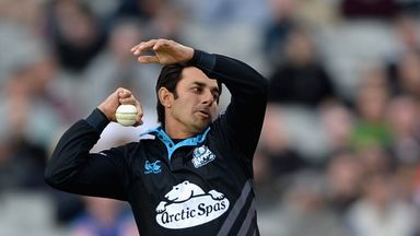Saeed Ajmal took 3-13 as Worcestershire beat Durham in the T20 Blast