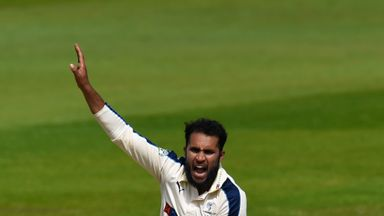 Adil Rashid: Yorkshire bowler has been named in England's squad for the first Investec Ashes Test