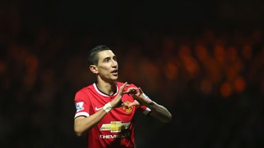 Angel Di Maria says he is 'very happy' as his move from Manchester United to PSG nears completion