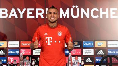 Arturo Vidal has moved from Juventus to Bayern Munich