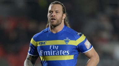 Ashton Sims: Has not missed a Super League game since joining Warrington