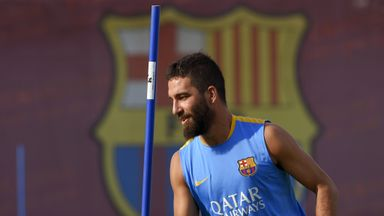 Arda Turan cannot play for Barcelona until January.