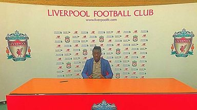Bobby Adekanye confirmed his move to Liverpool with a picture on his Instagram account