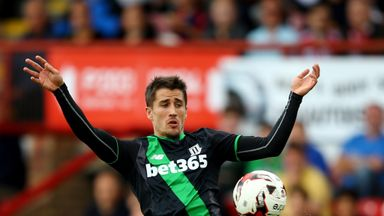 Bojan played his first game for Stoke since January