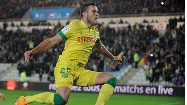 Jordan Veretout scored seven goals last season for Nantes, who finished 14th in Ligue 1