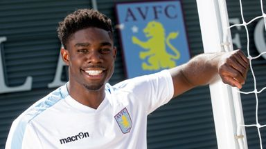 New signing Micah Richards is all smiles
