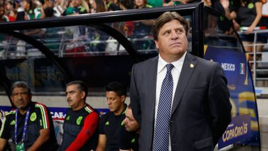 Miguel Herrera led Mexico to victory in the recent Gold Cup.