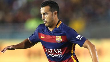 Manchester United are interested in signing Pedro, according to Sky sources