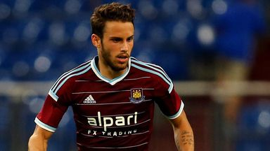 Diego Poyet is pushing to be a regular part of the West Ham side