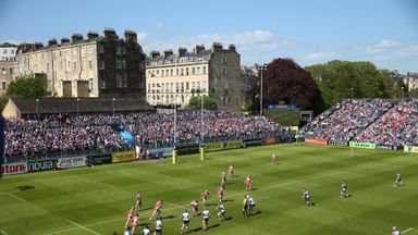 The Recreation Ground: Bath are planning to overhaul their existing facilities at the famous venue