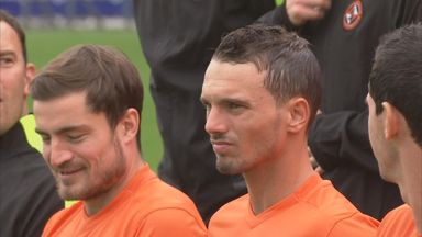 Rodney Sneijder (right) has joined Dundee United