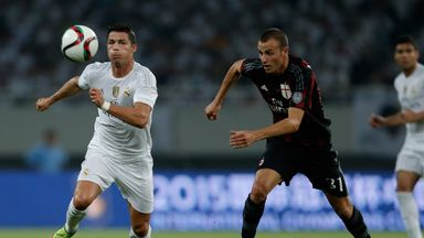 Real Madrid and AC Milan drew 0-0 before the Spanish side triumphed on penalties