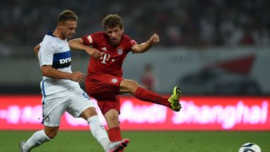 Thomas Muller scored 21 goals in all competitions for Bayern last season