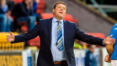 Tommy Wright saw his side beat Aberdeen 5-1 at the weekend