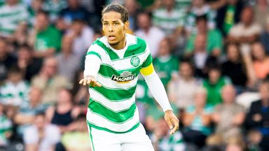 Virgil van Dijk joins Southampton from Celtic on a five-year contract