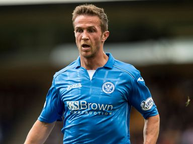 Chris Millar: Returns for St Johnstone