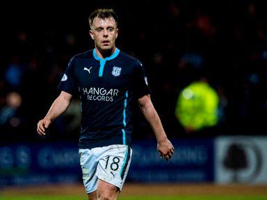 Dundee midfielder Paul McGowan has a broken foot