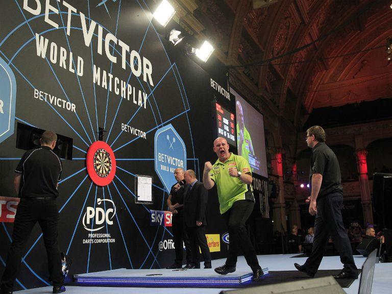 darts world matchplay draw