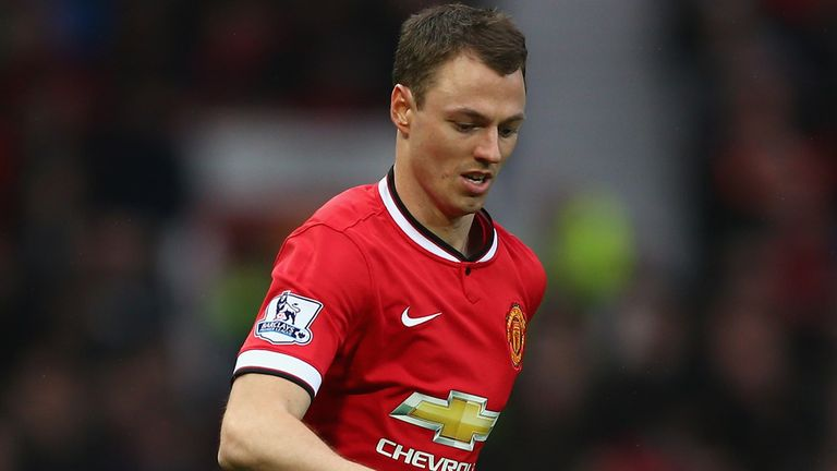 Evans spent much of his early career at Manchester United