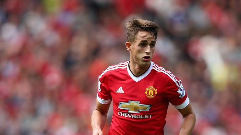 Januzaj will be hoping to force his way into Louis van Gaal's first team at United