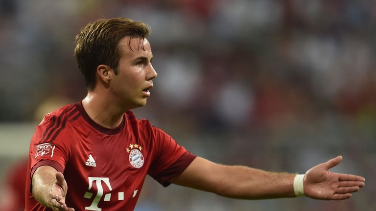 Gotze has been frustrated by his lack of regular action and admits he may have to consider his future