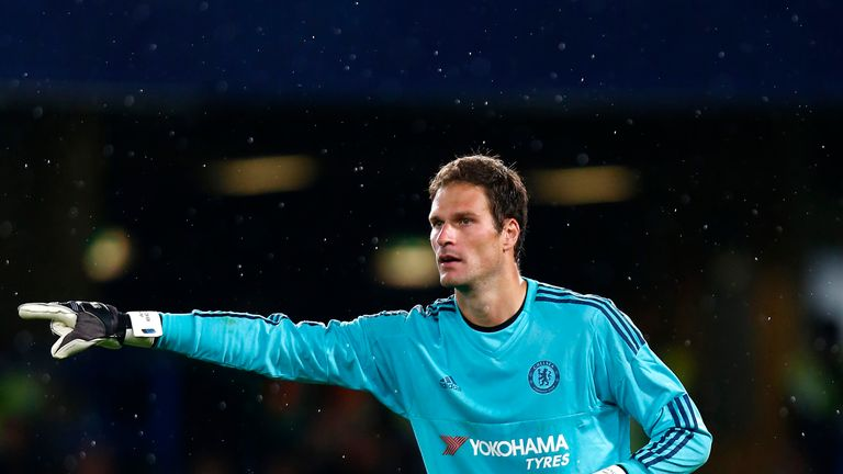 Asmir Begovic will deputise if Courtois is ruled out