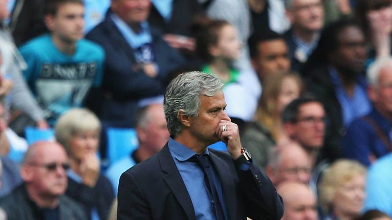 Jose Mourinho's Chelsea are yet to win a game