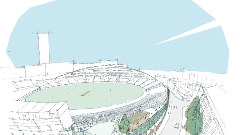 Surrey Reveal Plans To Redevelop Kia Oval Cricket News