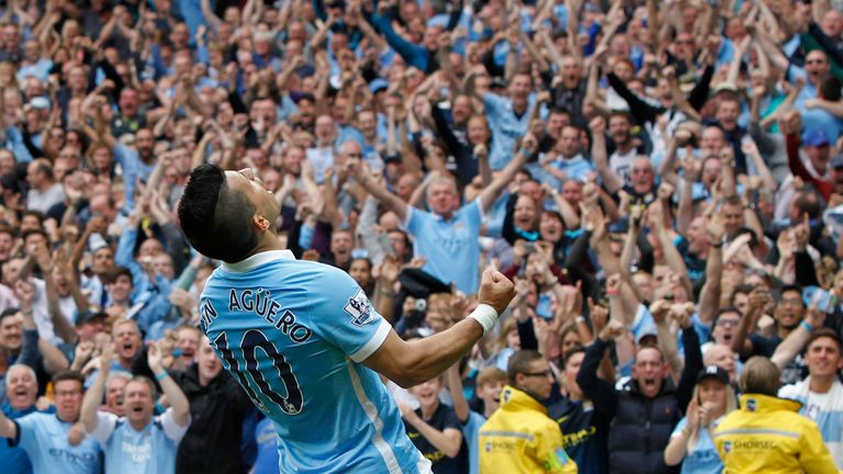 Sergio Aguero is key to Manchester City success