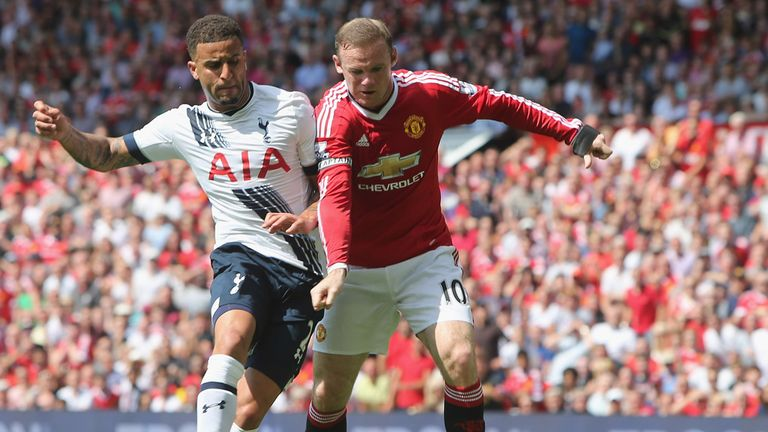 Rooney has been uncharacteristically quiet in Man Utd's two Premier League games