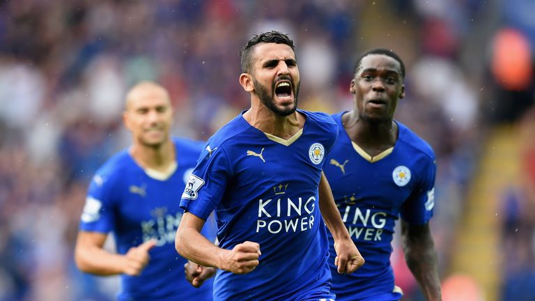 Leicester's Riyad Mahrez has enjoyed a fine start to the season