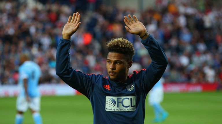 Arsenal winger Serge Gnabry is not expected back early from his loan spell with West Brom