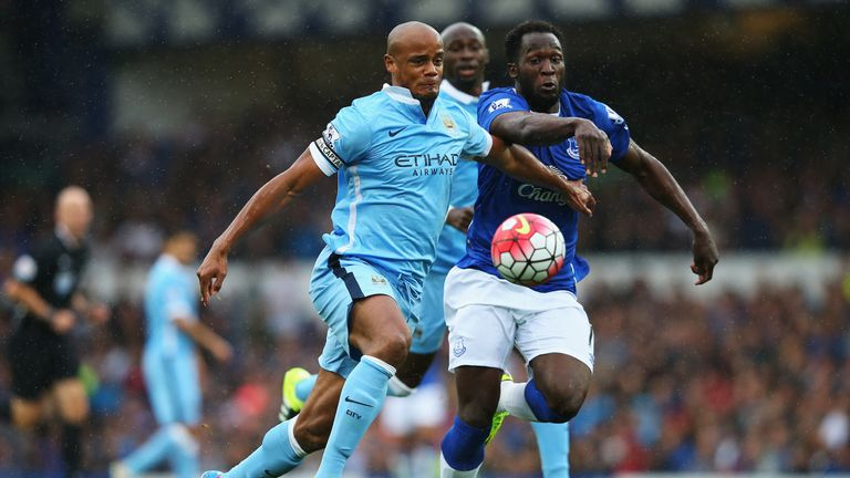 Vincent Kompany has led Manchester City's defence to four clean sheets in a row