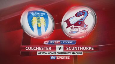 Colchester 2-2 Scunthorpe