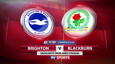 Brighton 1-0 Blackburn