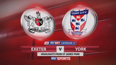 Exeter 0-0 York City