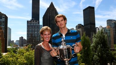 Andy Murray is more relaxed on court since getting married, according to his mum Judy