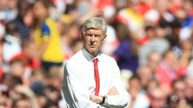 Arsenal boss Arsene Wenger beat Jose Mourinho for the first time