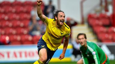 Danny Hylton: Scored the only goal of the game