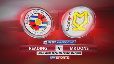 Reading 0-0 MK Dons
