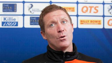 Kilmarnock boss Gary Locke is pleased with the mix of experience in his squad