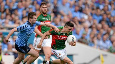 Jason Doherty surges past Dublin's Jack McCaffrey