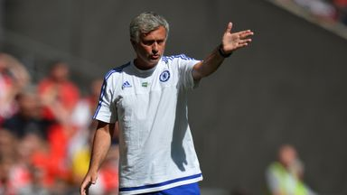 Chelsea manager Jose Mourinho labelled the pitch a 'disaster'