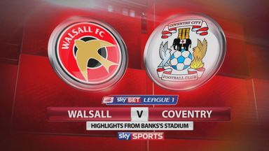 Walsall 2-1 Coventry