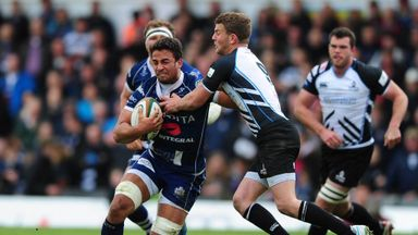 Marco Mama (left) will play in the Aviva Premiership for promoted Worcester this season