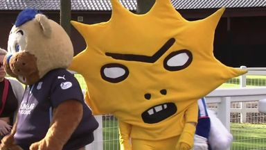 The SPFL mascot race ended in controversy!