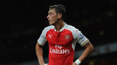 Mesut Ozil is happy to put Arsenal success before any personal glory