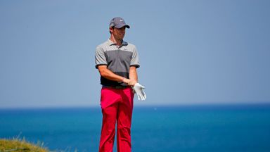 Rory McIlroy currently leads the Race to Dubai standings