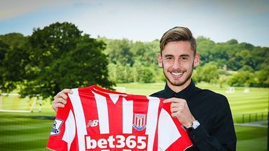Sergio Molina has become Stoke's ninth new signing of the summer